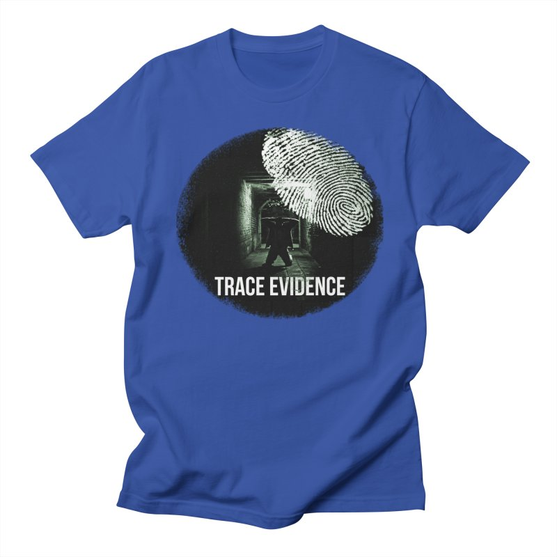 Stressed Logo Men's Regular T-Shirt by Trace Evidence - A True Crime Podcast