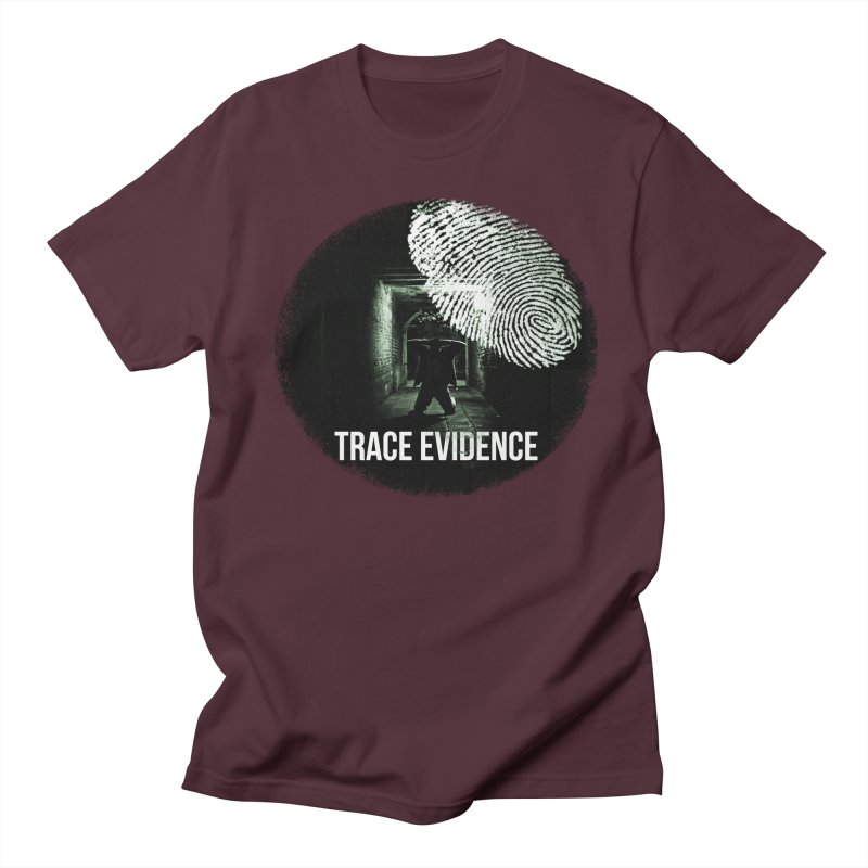 Stressed Logo Men's T-Shirt by Trace Evidence - A True Crime Podcast