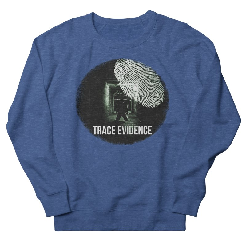 Stressed Logo Men's Sweatshirt by Trace Evidence - A True Crime Podcast