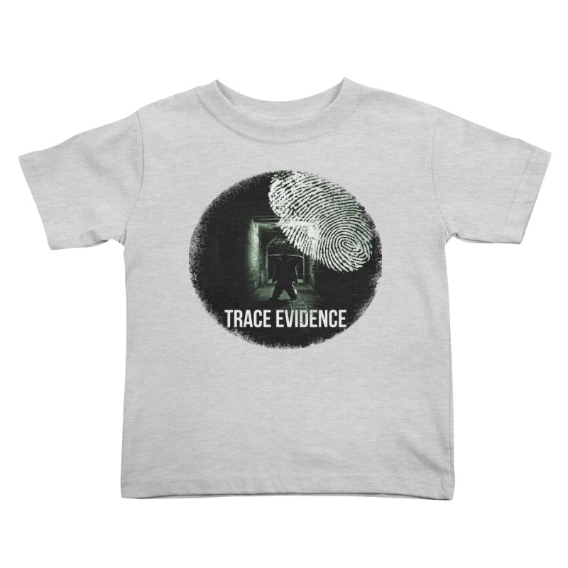 Stressed Logo Kids Toddler T-Shirt by Trace Evidence - A True Crime Podcast