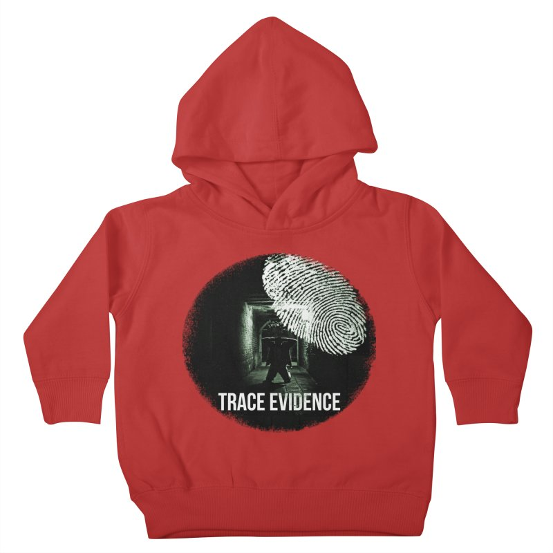Stressed Logo Kids Toddler Pullover Hoody by Trace Evidence - A True Crime Podcast