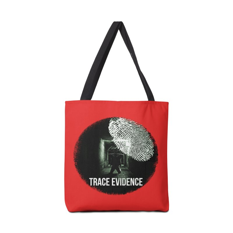 Stressed Logo Accessories Bag by Trace Evidence - A True Crime Podcast