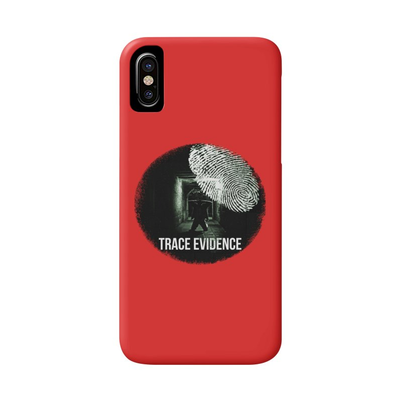 Stressed Logo Accessories Phone Case by Trace Evidence - A True Crime Podcast