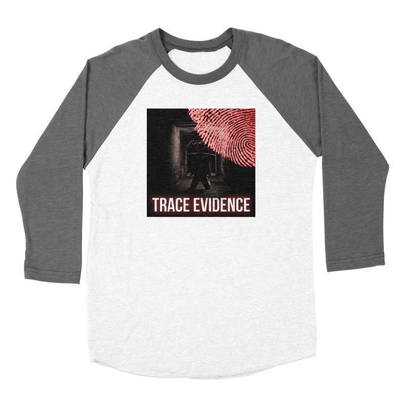 Red Logo Women's Longsleeve T-Shirt by Trace Evidence - A True Crime Podcast