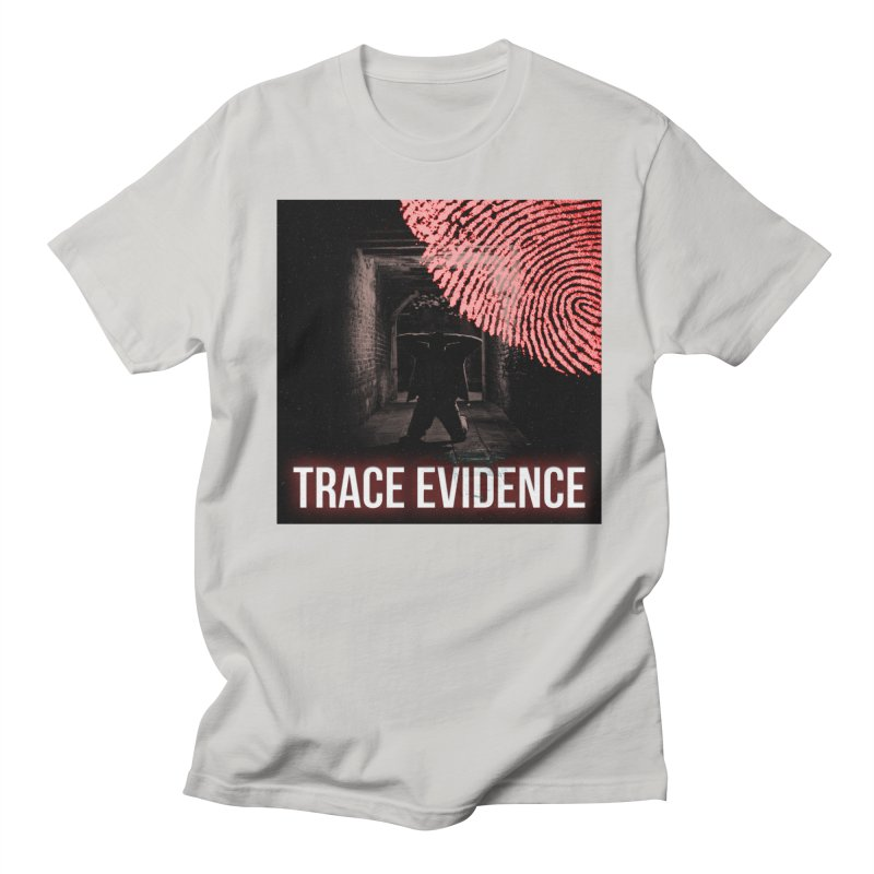 Red Logo Women's Regular Unisex T-Shirt by Trace Evidence - A True Crime Podcast