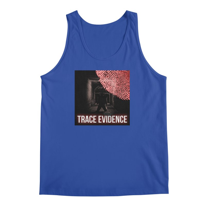 Red Logo Men's Regular Tank by Trace Evidence - A True Crime Podcast