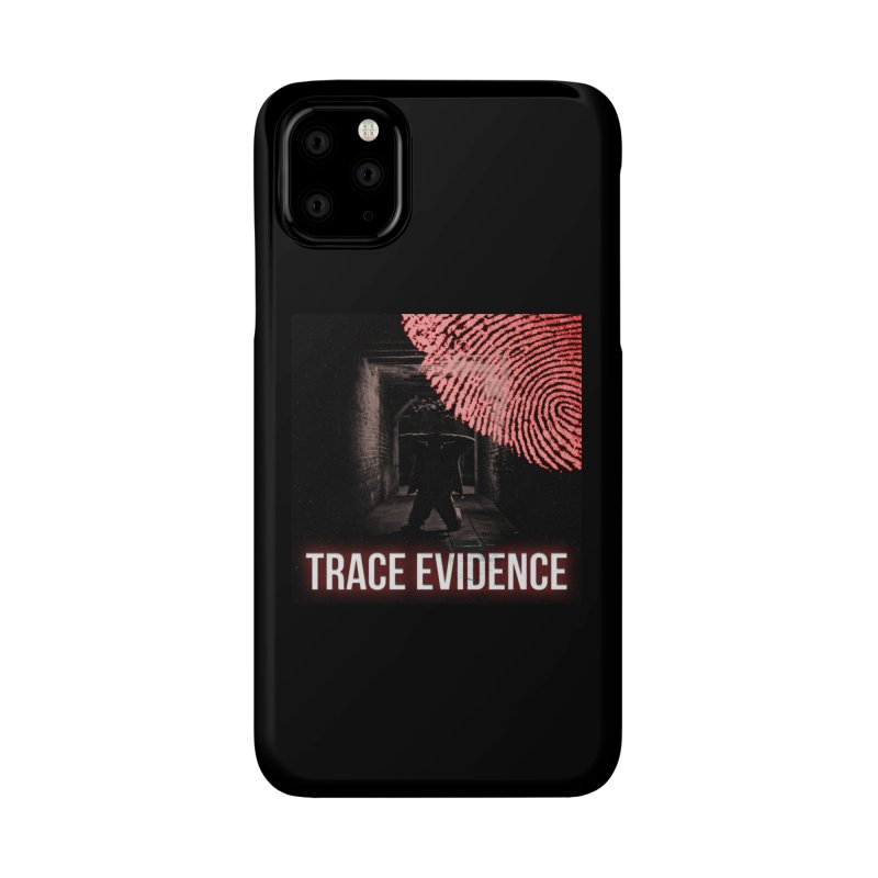 Red Logo Accessories Phone Case by Trace Evidence - A True Crime Podcast