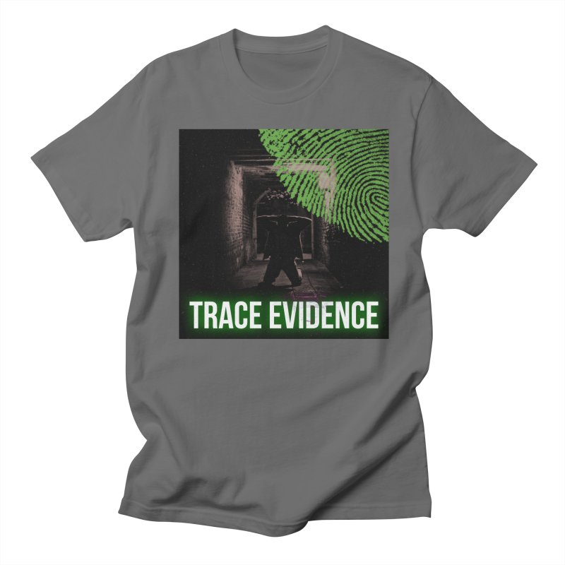 Green Logo Men's T-Shirt by Trace Evidence - A True Crime Podcast