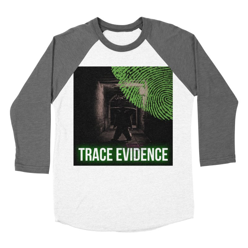 Green Logo Women's Longsleeve T-Shirt by Trace Evidence - A True Crime Podcast