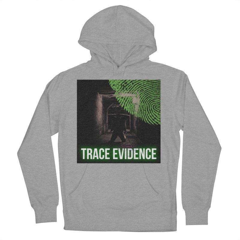 Green Logo Women's Pullover Hoody by Trace Evidence - A True Crime Podcast