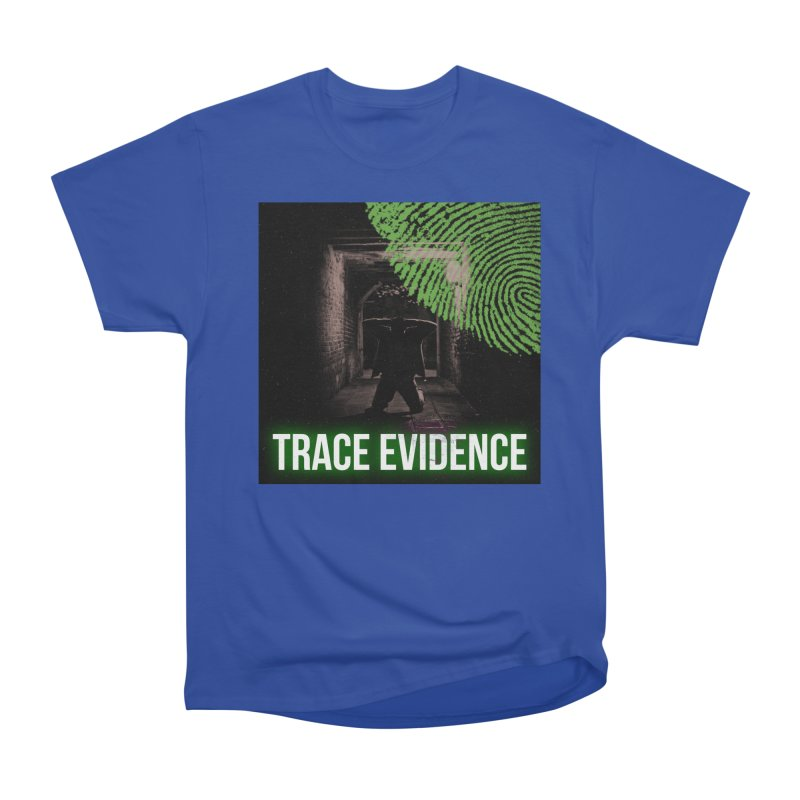 Green Logo Men's Heavyweight T-Shirt by Trace Evidence - A True Crime Podcast