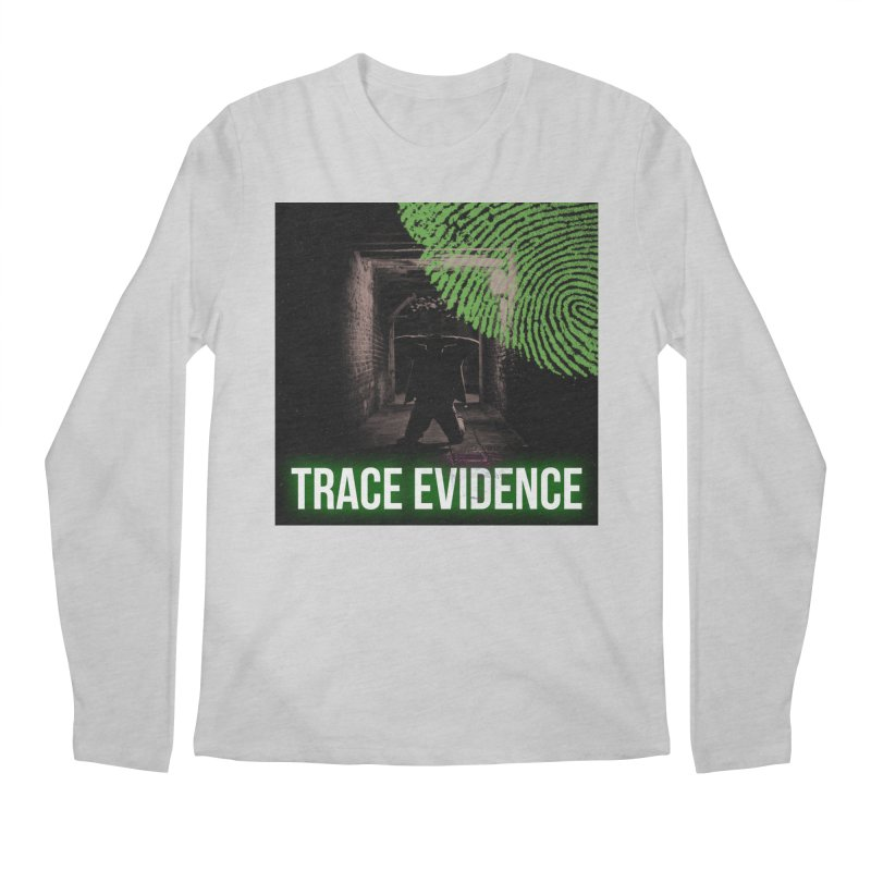 Green Logo Men's Regular Longsleeve T-Shirt by Trace Evidence - A True Crime Podcast