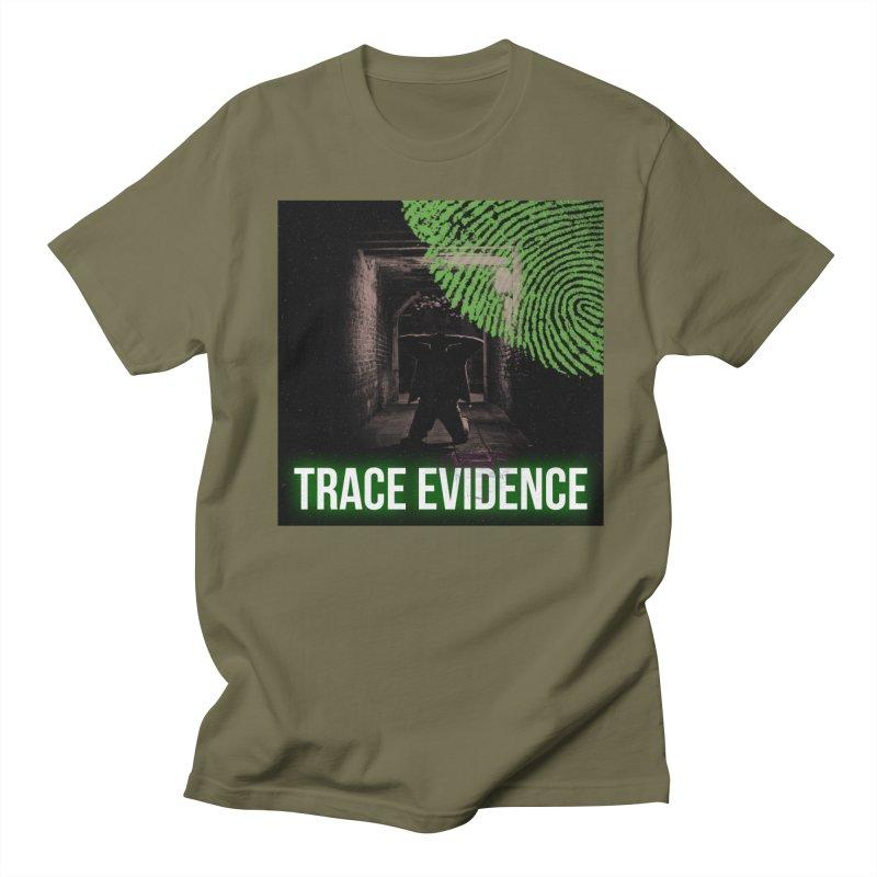 Green Logo Men's Regular T-Shirt by Trace Evidence - A True Crime Podcast