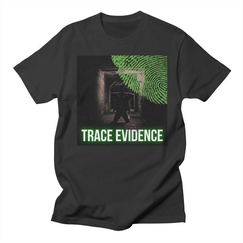 Green Logo Women's Regular Unisex T-Shirt by Trace Evidence - A True Crime Podcast