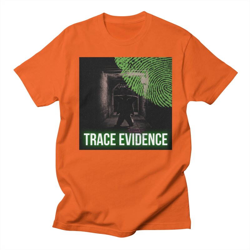 Green Logo Women's Regular Unisex T-Shirt by Trace Evidence - A True Crime Podcast
