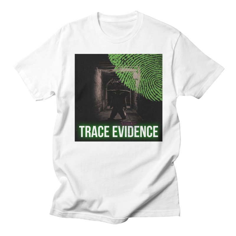 Green Logo Men's Regular T-Shirt by Trace Evidence - A True Crime Podcast