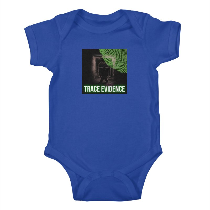 Green Logo Kids Baby Bodysuit by Trace Evidence - A True Crime Podcast