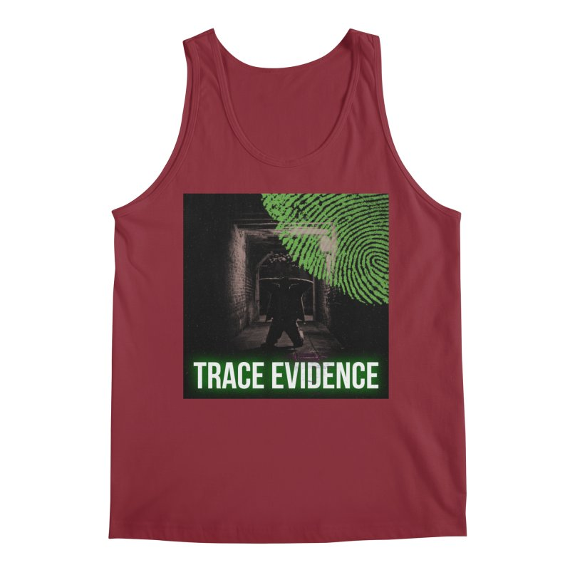 Green Logo Men's Tank by Trace Evidence - A True Crime Podcast