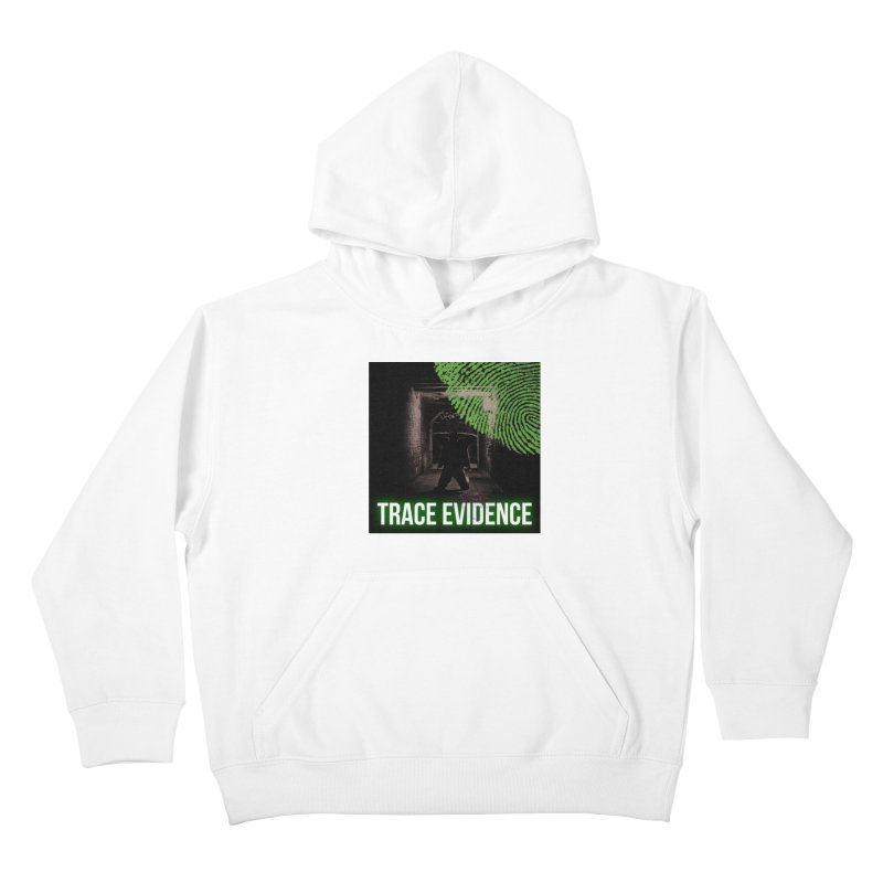 Green Logo Kids Pullover Hoody by Trace Evidence - A True Crime Podcast