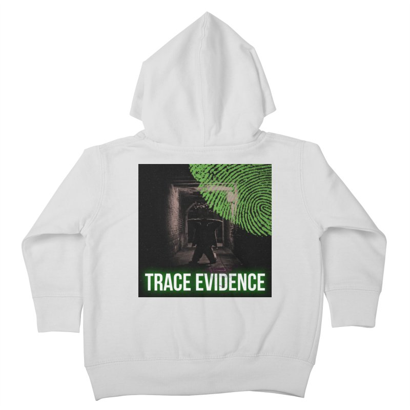 Green Logo Kids Toddler Zip-Up Hoody by Trace Evidence - A True Crime Podcast