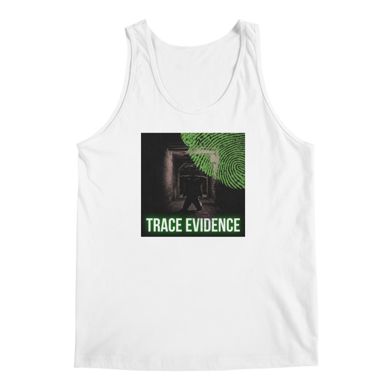 Green Logo Men's Regular Tank by Trace Evidence - A True Crime Podcast