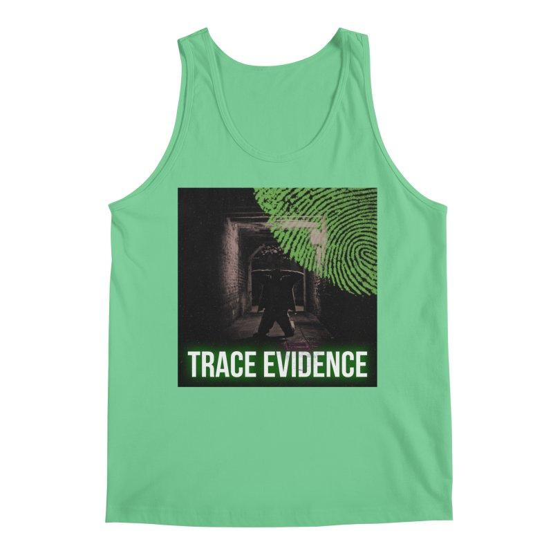Green Logo Men's Regular Tank by Trace Evidence - A True Crime Podcast
