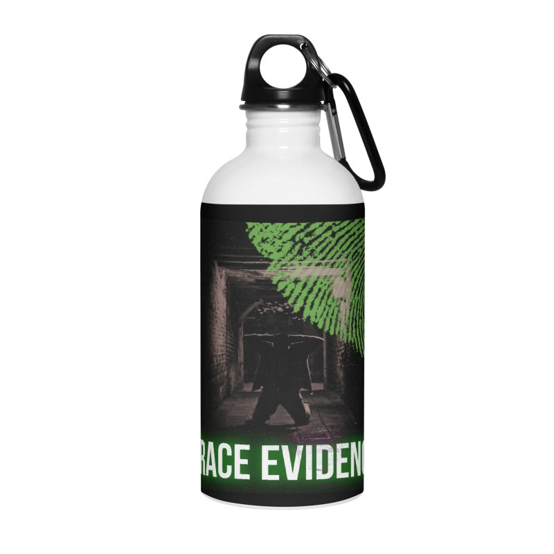 Green Logo Accessories Water Bottle by Trace Evidence - A True Crime Podcast