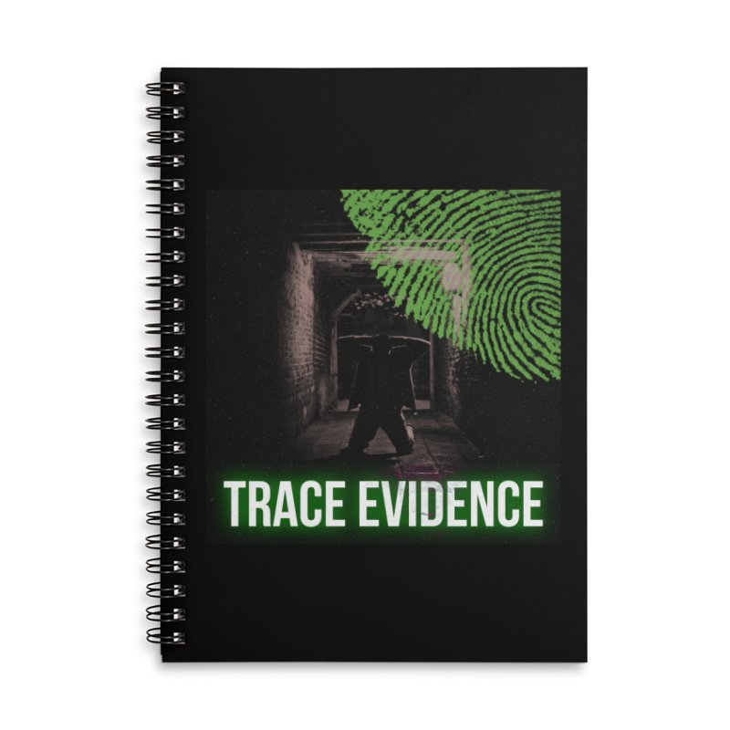 Green Logo Accessories Notebook by Trace Evidence - A True Crime Podcast