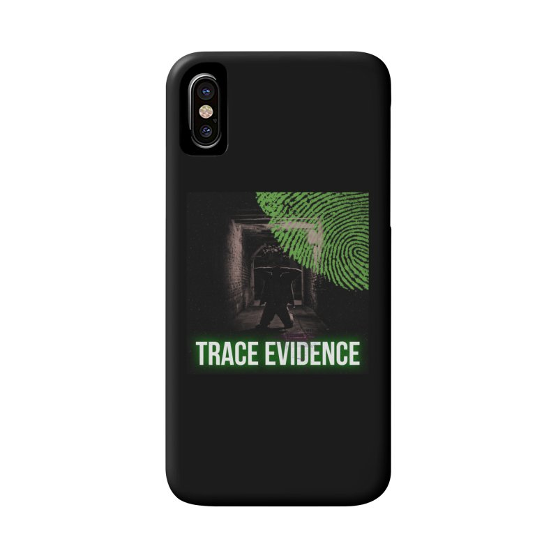 Green Logo Accessories Phone Case by Trace Evidence - A True Crime Podcast