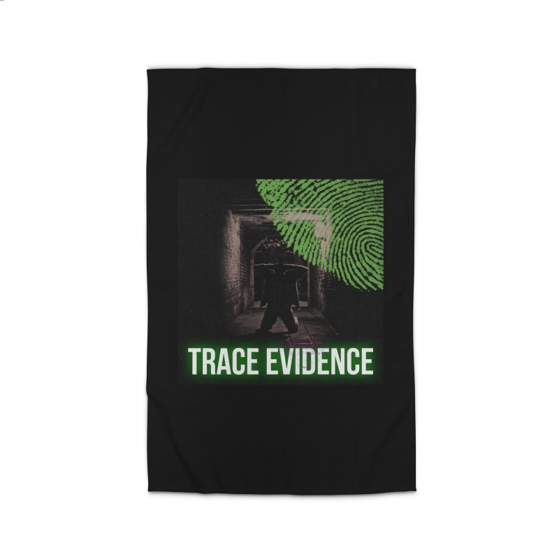 Green Logo Home Rug by Trace Evidence - A True Crime Podcast