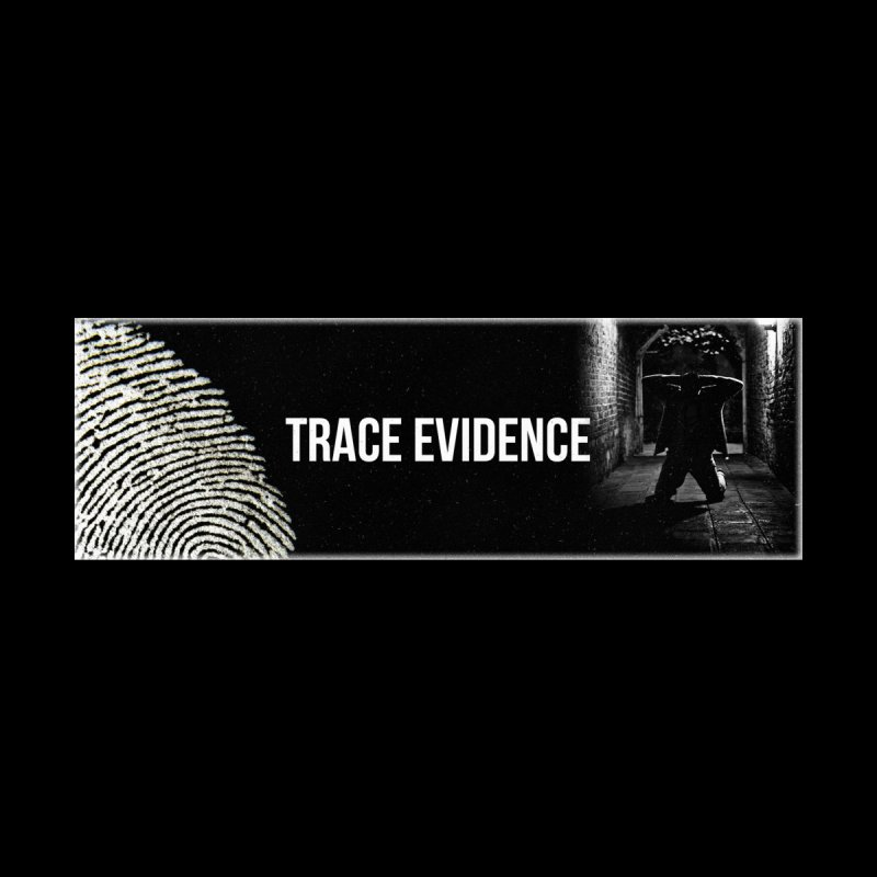 Long Logo Women's Zip-Up Hoody by Trace Evidence - A True Crime Podcast