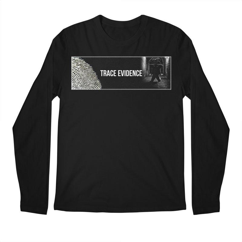 Long Logo Men's Regular Longsleeve T-Shirt by Trace Evidence - A True Crime Podcast