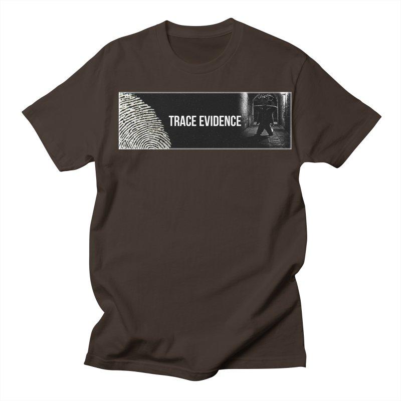 Long Logo Men's Regular T-Shirt by Trace Evidence - A True Crime Podcast