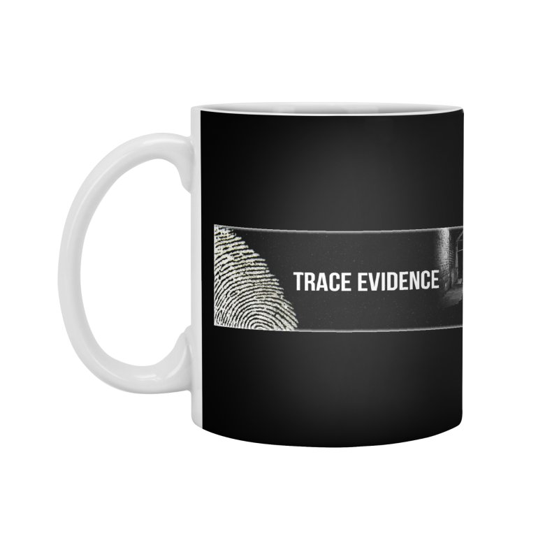 Long Logo Accessories Mug by Trace Evidence - A True Crime Podcast