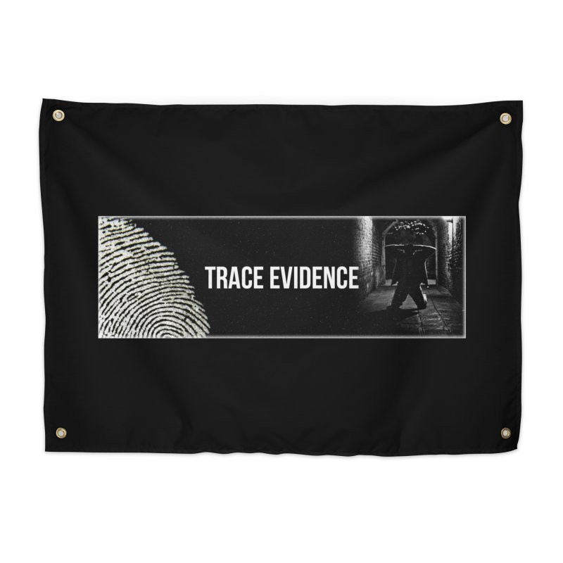 Long Logo Home Tapestry by Trace Evidence - A True Crime Podcast