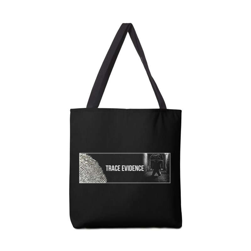 Long Logo Accessories Tote Bag Bag by Trace Evidence - A True Crime Podcast