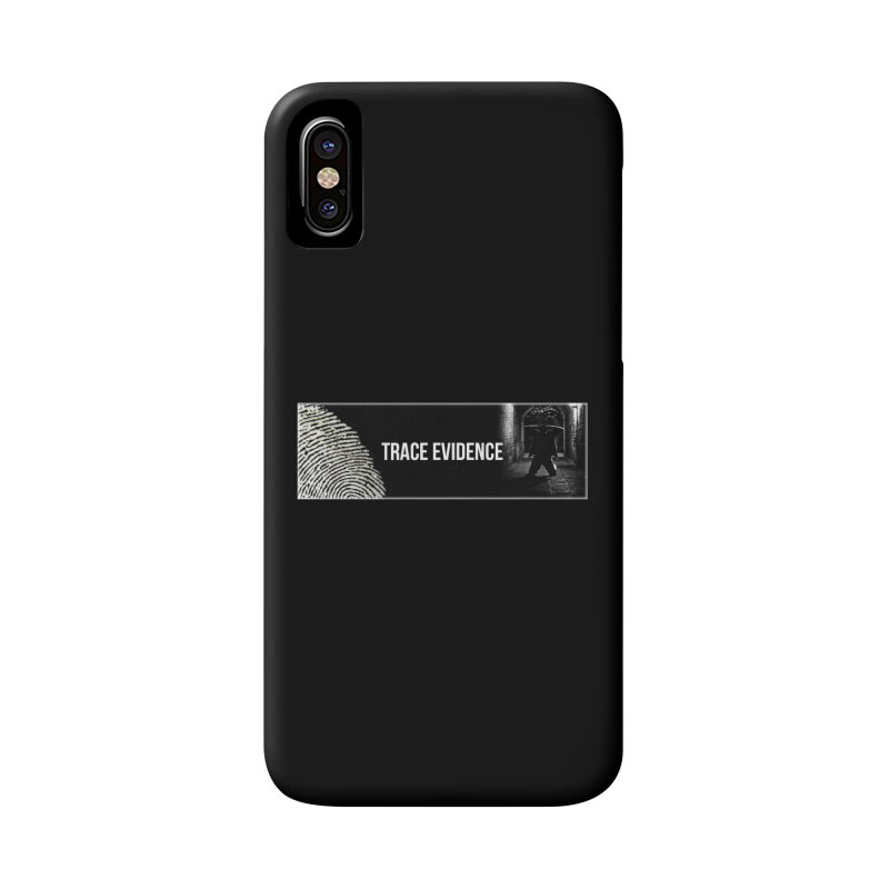 Long Logo Accessories Phone Case by Trace Evidence - A True Crime Podcast