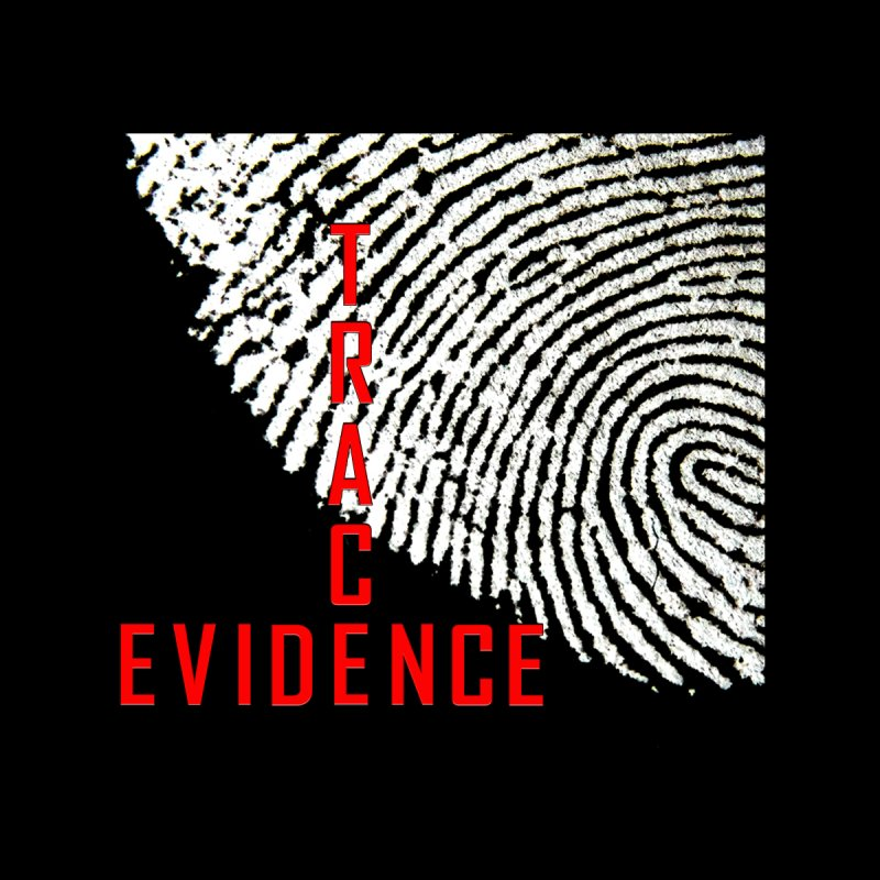 Text Logo - Red Women's V-Neck by Trace Evidence - A True Crime Podcast