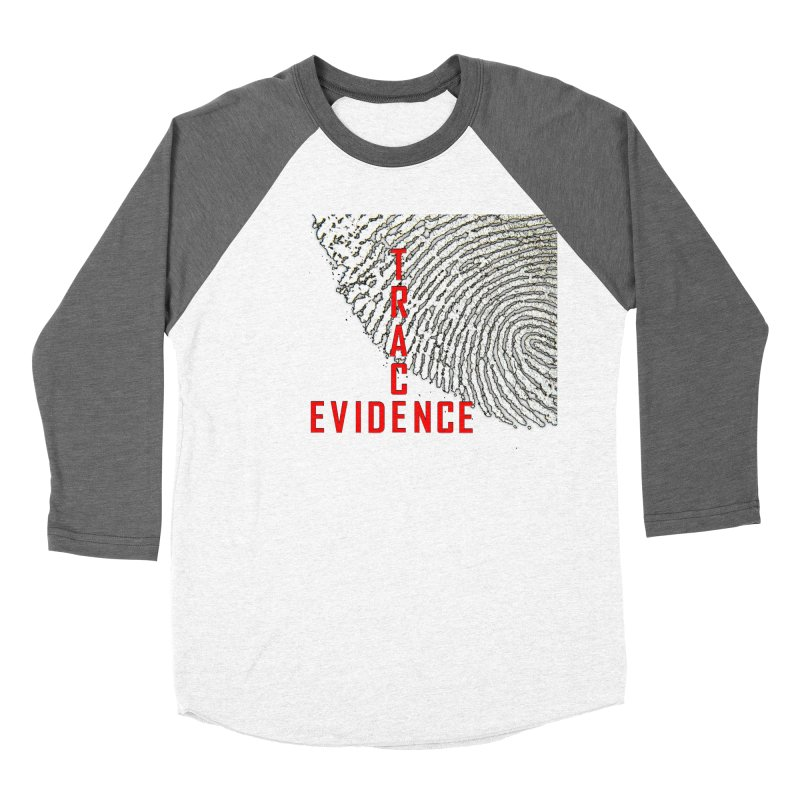 Text Logo - Red Women's Longsleeve T-Shirt by Trace Evidence - A True Crime Podcast