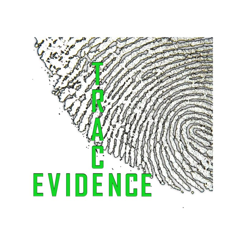 Text Logo - Green Home Bath Mat by Trace Evidence - A True Crime Podcast