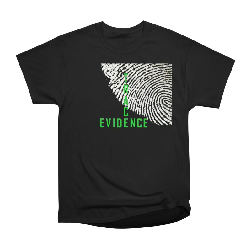 Text Logo - Green Women's T-Shirt by Trace Evidence - A True Crime Podcast