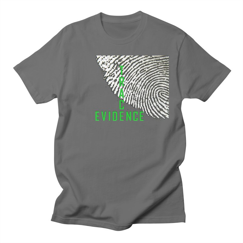 Text Logo - Green Men's T-Shirt by Trace Evidence - A True Crime Podcast