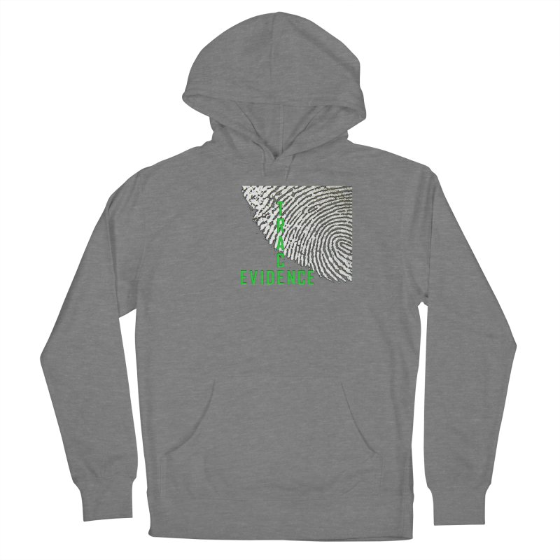 Text Logo - Green Women's Pullover Hoody by Trace Evidence - A True Crime Podcast
