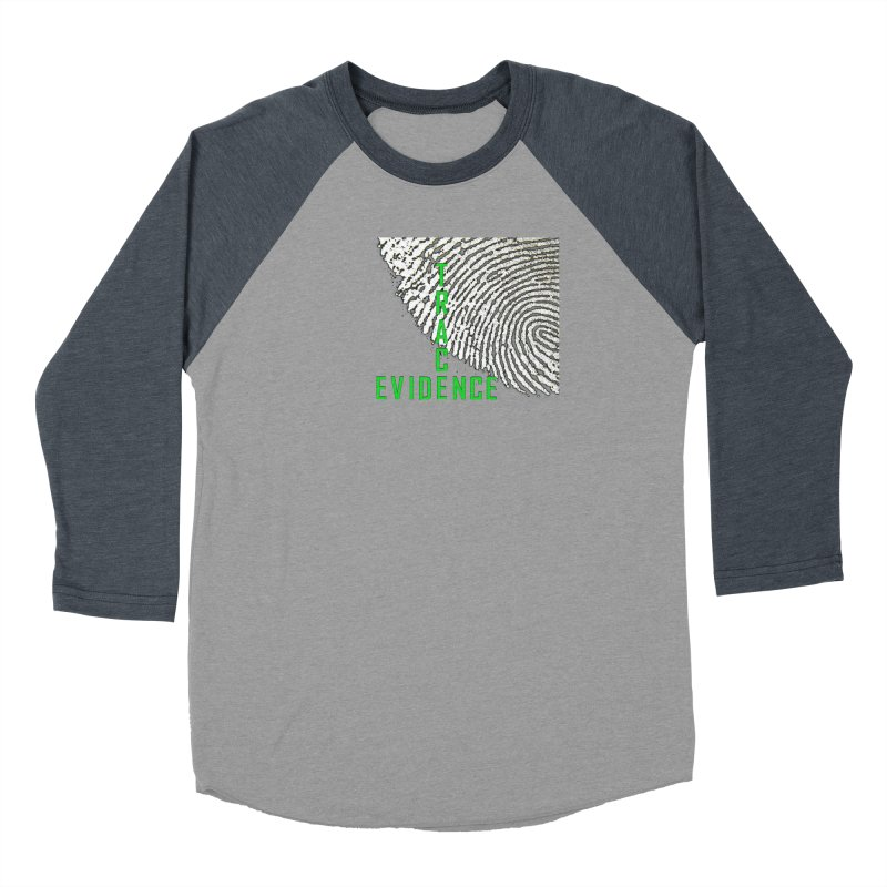 Text Logo - Green Women's Longsleeve T-Shirt by Trace Evidence - A True Crime Podcast