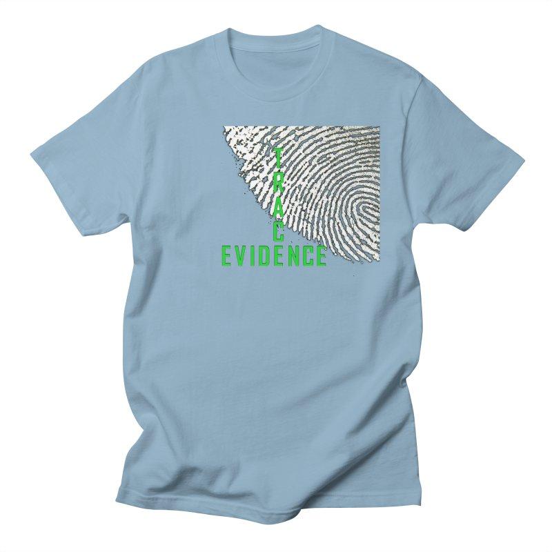Text Logo - Green Women's Regular Unisex T-Shirt by Trace Evidence - A True Crime Podcast