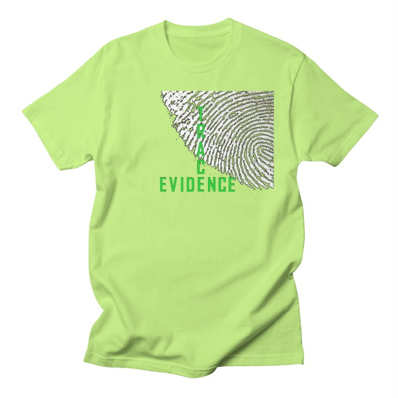 Text Logo - Green Women's Regular Unisex T-Shirt by Trace Evidence - A True Crime Podcast