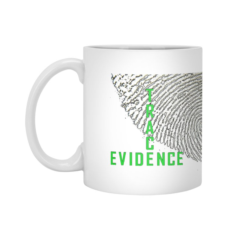 Text Logo - Green Accessories Standard Mug by Trace Evidence - A True Crime Podcast