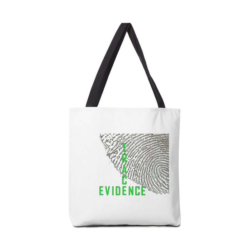 Text Logo - Green Accessories Tote Bag Bag by Trace Evidence - A True Crime Podcast