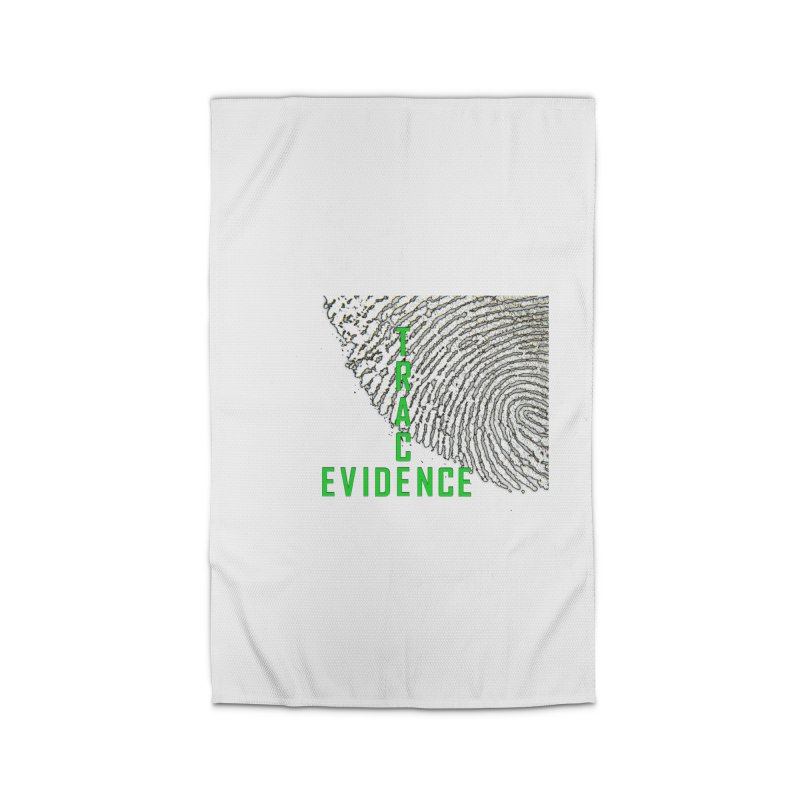 Text Logo - Green Home Rug by Trace Evidence - A True Crime Podcast