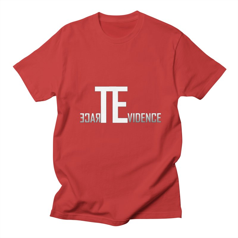 TE Podcast Men's T-Shirt by Trace Evidence - A True Crime Podcast